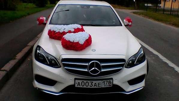 Аренда Mercedes Е AMG на свадьбу