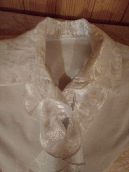 Школьная блузка, р.128-134 (1-2 класс)