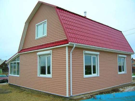 Строительство загородных домов по приемлимым ценам