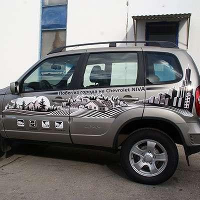 Оклейка легковых автомобилей, пикапов в Тольятти фото 4