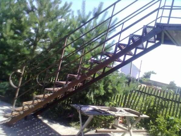 Лестницу изготовим