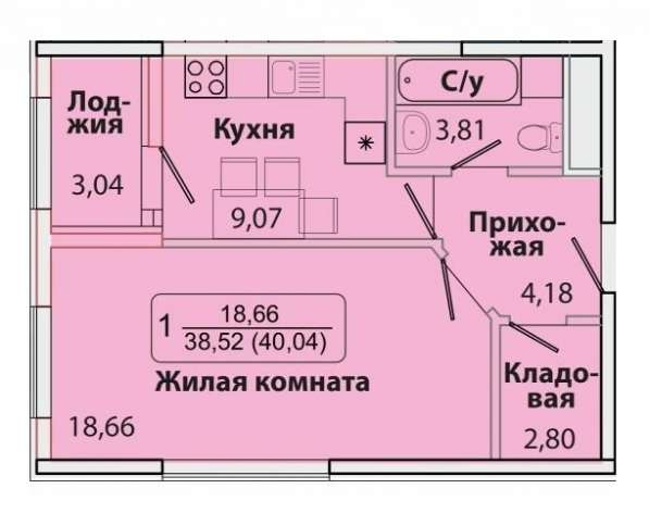 Продам 1 к. кв., г. Краснодар, ФМР, ул. Симиренко