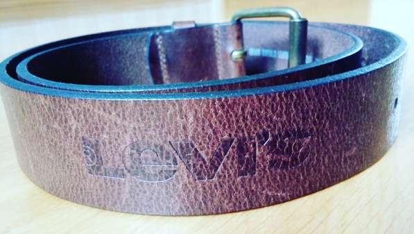 Новый кожаный ремень Levis унисекс
