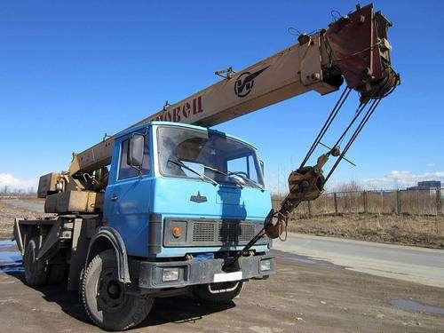 Автокран 14 т Ивановец / МАЗ + установка