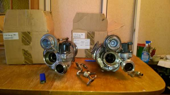 Турбины от BMW x6