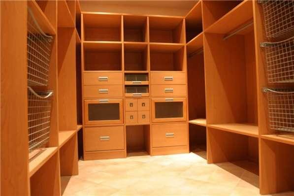 Гардеробные и шкафы-купе по индивидуальным размерам в Москве фото 3