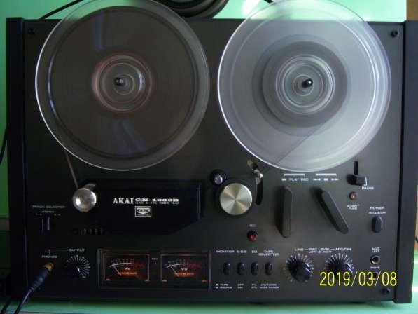 Магнитофон AKAI GX4000D бобинник, катушечный, Япония,220v