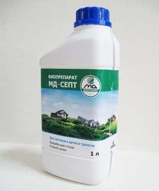 МД-Септ биопрепарат для туалета и выгребной ямы