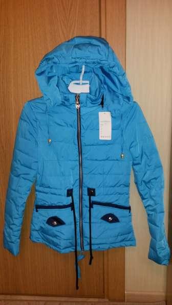 Новая куртка весна-осень р.40-42