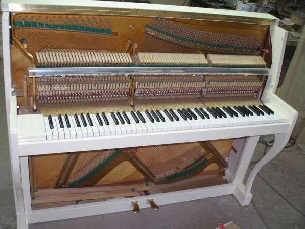 Настройка, ремонт, пианино(фортепиано), рояля