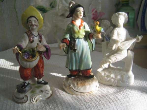 Фарфоровые статуэтки-Китайцы(композиция из 3-х)Нимфенбург