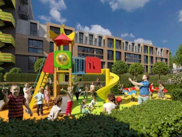 Апартаменты площадью 64,7 м2 в клубном комплексе «Парк Мира»