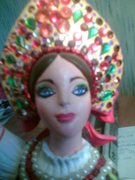 Русская красавица. Керамика. Ручная работа