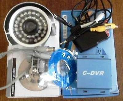 комплект на 1 видеокамеру наблюдения