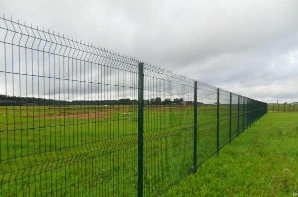 Еврозабор 3Д забор из сварной сетки Полимер 2030х3000х4 мм