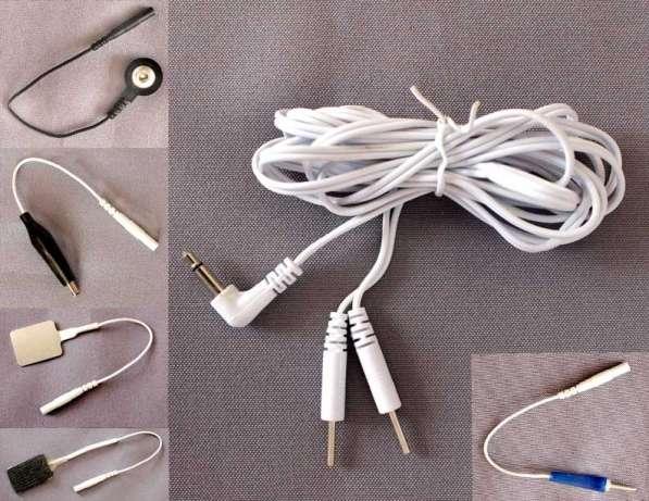 Кабели, провода пациента для электро- миостимуляторов
