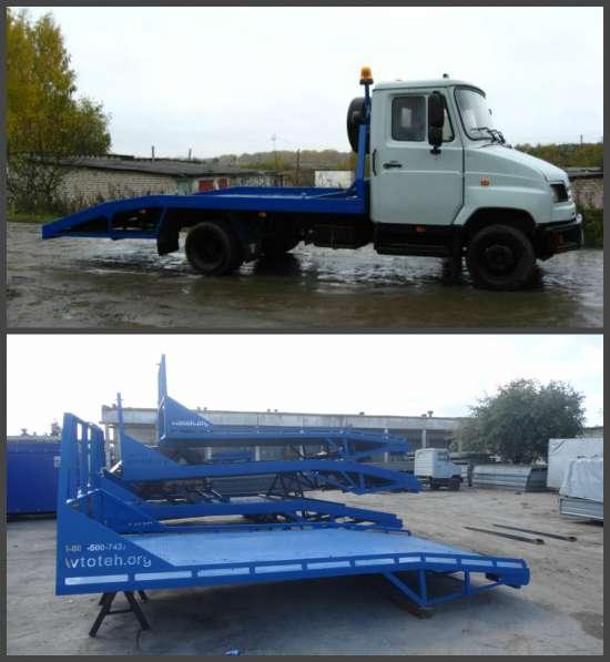 Изготовление и установка эвакуаторной платформы на ЗиЛ 5301