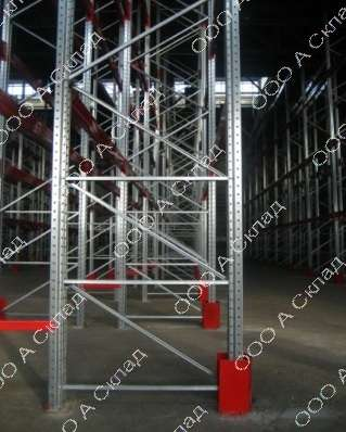 Фронтальные стеллажи для склада в Нижнем Новгороде фото 3