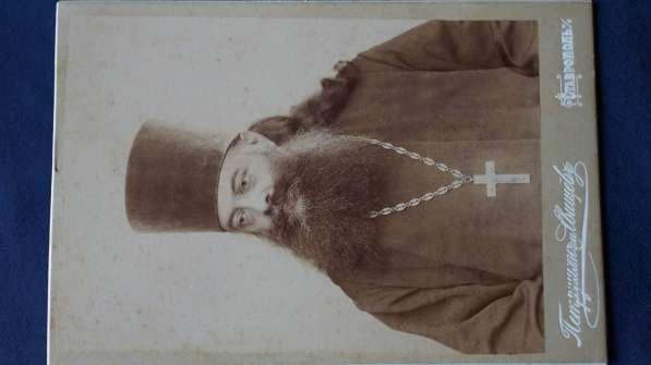 Кабинетный портрет соборного протоиерея, Ставрополь, 1900-е в Санкт-Петербурге фото 3