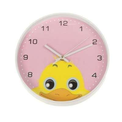 Часы настенные круглые на циферблате Уте