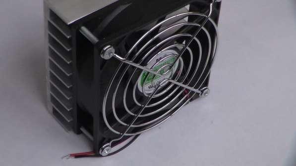 Радиатор с вентилятором 92х92х25мм для РЭА