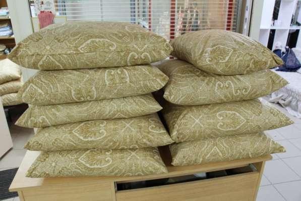 Реставрация и чистка подушек и перин сеть мастерских Пушинка