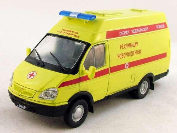 автомобиль на службе №40 Семар-3234 Реанимация новорожденных