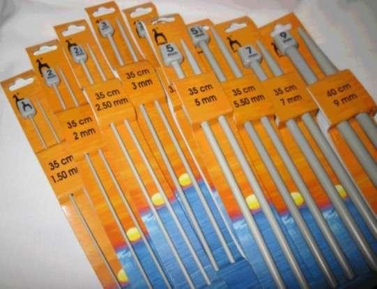 Спицы для вязания 1-5 мм