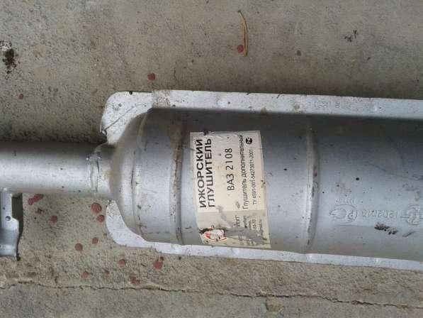 Глушитель дополнительный ВАЗ 2108