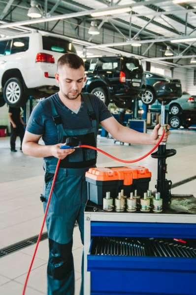 Восстановление и ремонт стоек амортизаторов с гарантией