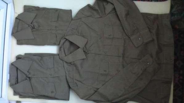 Рубашки военные СССР хаки ,новые .