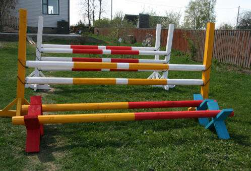 Изготовление конкурных барьеров для лошадей