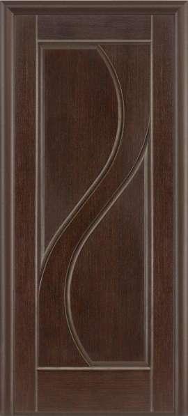 Дверь межкомнатная LUIDOOR Ривьера ДГ Черный дуб тонированны