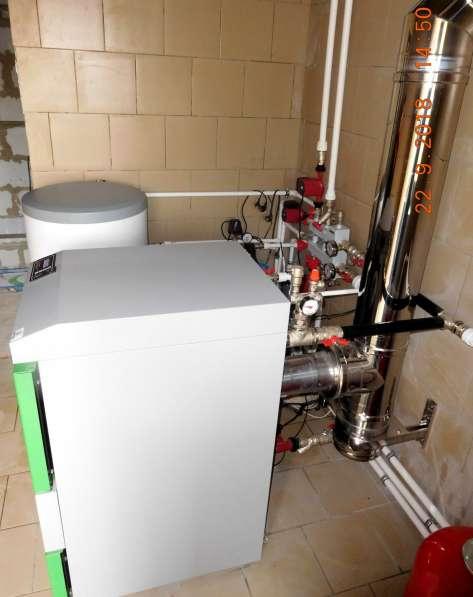 Монтаж систем отопления, водоснабжения, канализации в Омске фото 20