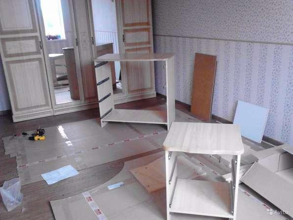 Сборка мебели установка ремонт реставрация