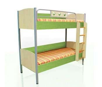 Кровать 2х-ярусная универсальная Полосат