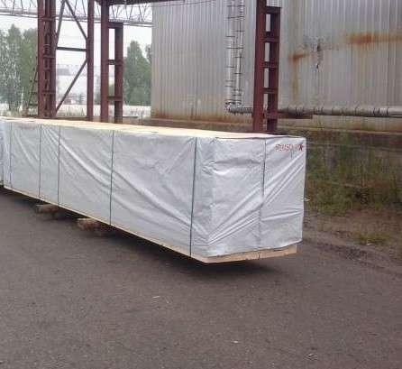 Ткань черно-белая для защиты пиломатериалов в Москве