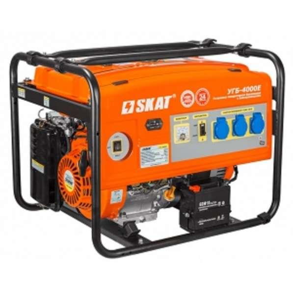 Продаю генератор Скат 4000 Е с автозапуском новый