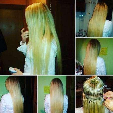 Наращивание волос. Афрокосички. Волосы для наращивания в Сочи.