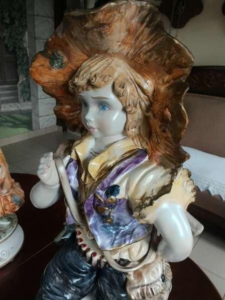 Парные фафроровые статуэтки Италия 68 см в Перми фото 10