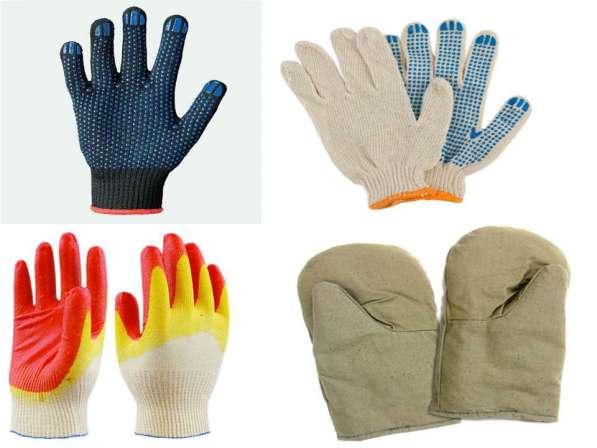 Х/Б перчатки рабочие