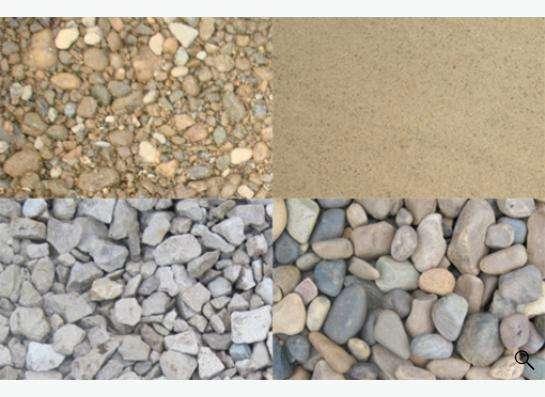 Щебень, песок