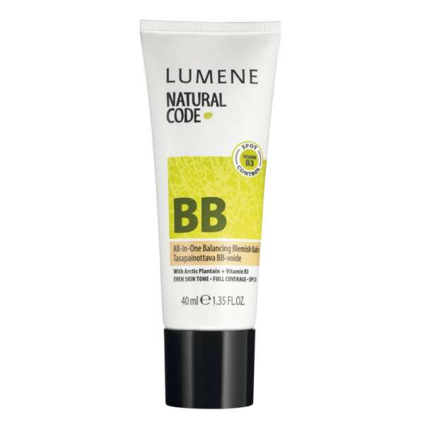 Балансирующий BB крем Lumene Natural Code SPF 25 All-in-One