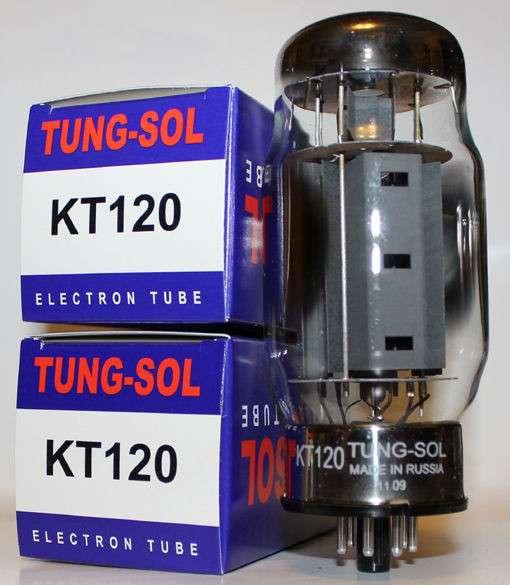 Радиолампаы KT120 Tung-Sol