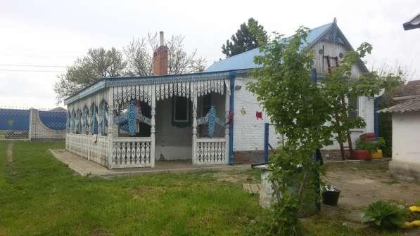 Дом в Динском районе с огородом в речку