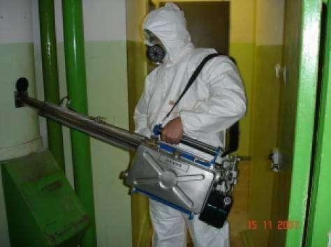 Уничтожение клопов тараканов НАНО технология
