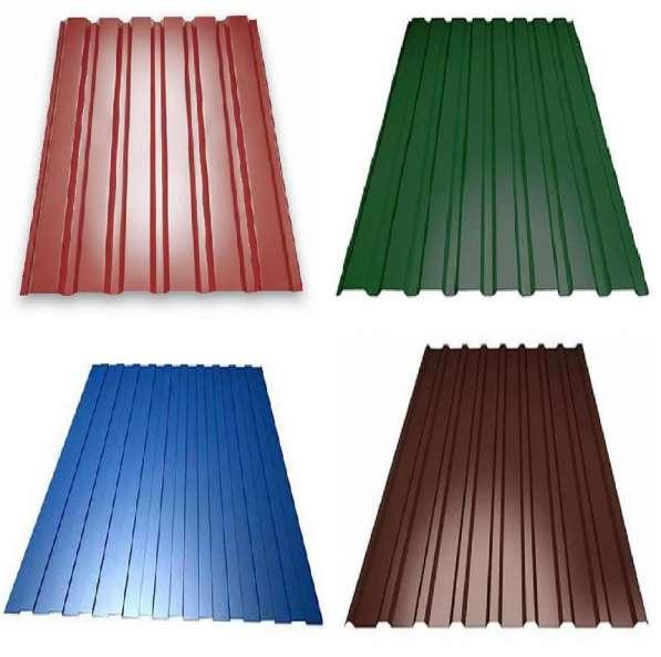 Профлист металлический для заборов и крыши