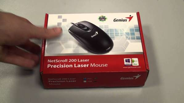 Мышь Genius NetScroll 200 Laser