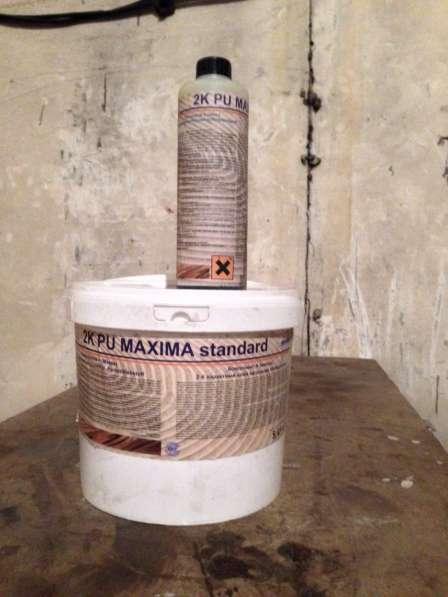 Клей для паркета 2k pu maxima standart