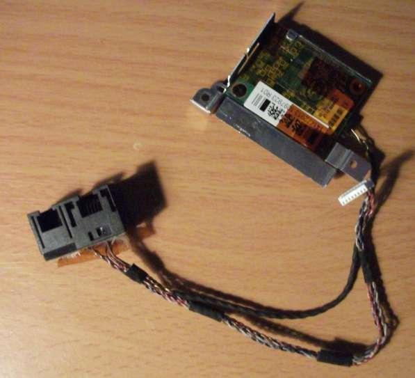 Шлейф LAN и Modem,и плата с модемом для Sony Vaio